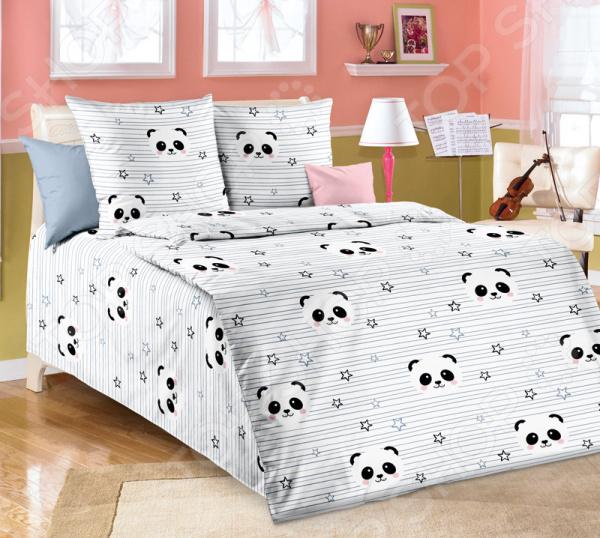 Детский комплект постельного белья ТексДизайн «Бамбуковый мишка»