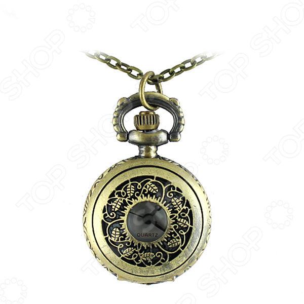Кулон-часы Mitya Veselkov «Медальон с листьями»