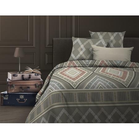 Купить Комплект постельного белья Wenge Ankara. 1,5-спальный. Цвет: серый, коричневый