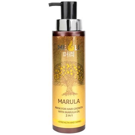Купить Маска для усиления роста волос Meoli «Сила и блеск» with Marula Oil 2 in 1