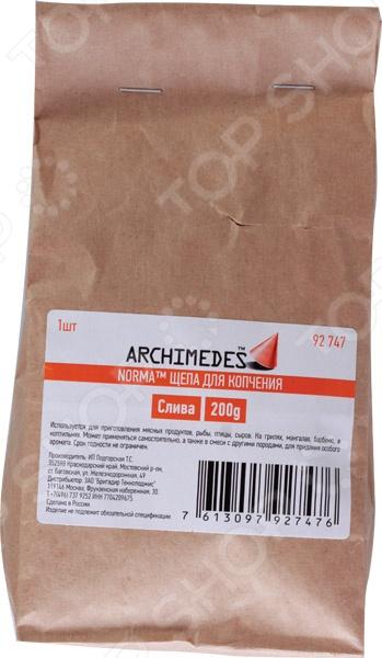 Щепа для копчения Archimedes сливовая    /