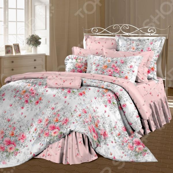 Комплект постельного белья Романтика «Французский букет»