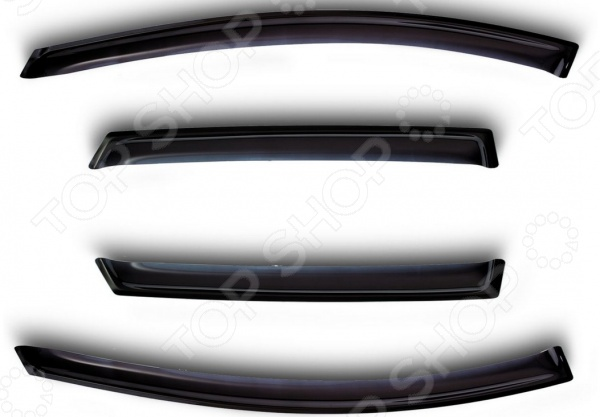 Дефлекторы окон Novline-Autofamily Kia Picanto 2007-2011 дефлекторы окон novline autofamily renault duster 2011