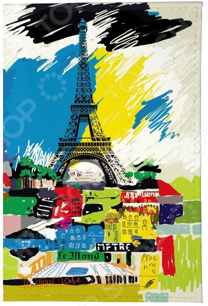 Визитница Mitya Veselkov «Париж в красках» визитницы mitya veselkov визитница олени на черном