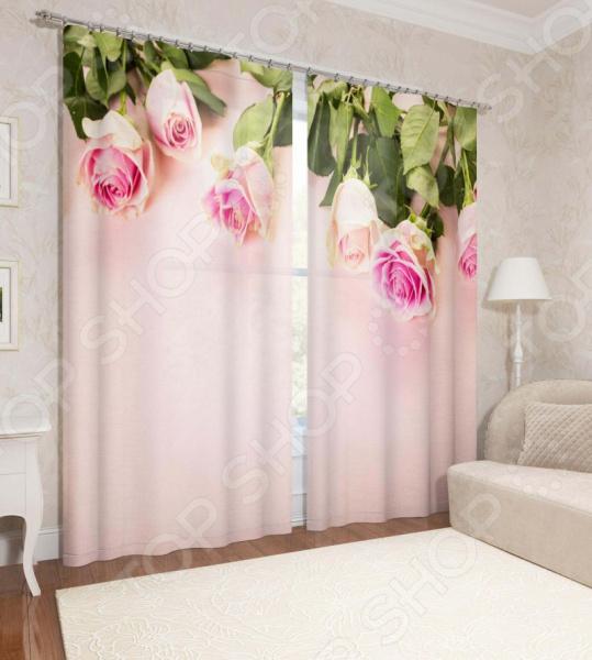 Фотошторы Сирень «Розы»