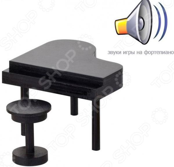 Мебель интерактивная для Барби PAREMO «Рояль (звук)» кукольная мебель paremo интерактивная мебель для барби рояль