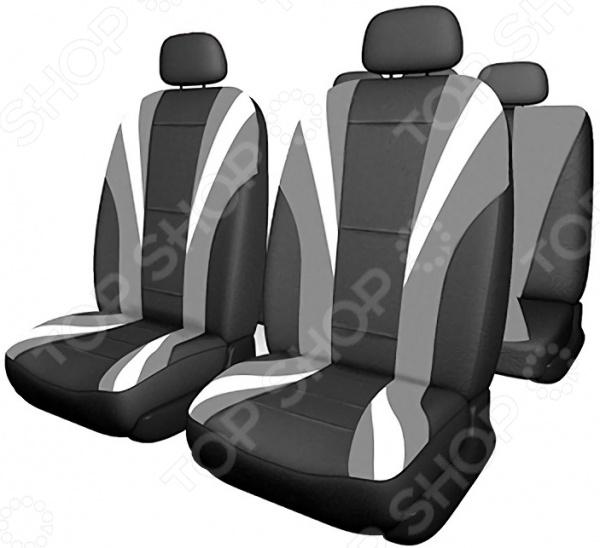 Комплект чехлов на сиденья автомобиля SKYWAY Drive-3