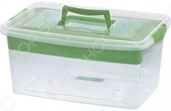 Контейнер для хозяйственных нужд с лотком СИБРТЕХ 90745 смеси и сыпучие материалы