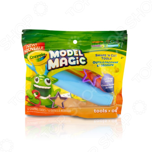 Набор инструментов для лепки из пластилина Crayola 23-3304 набор для детского творчества набор веселая кондитерская 1 кг
