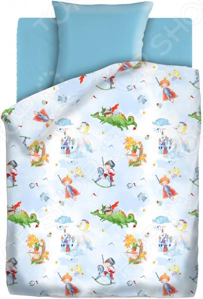 Детский комплект постельного белья Непоседа «Отважный герой» детский комплект постельного белья непоседа на рыбалке