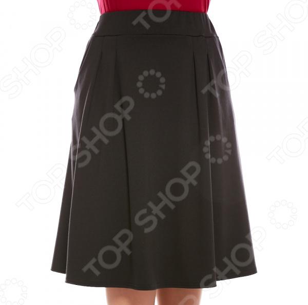 Юбка Матекс «Изабель». Цвет: черный платье матекс уютная цвет синий