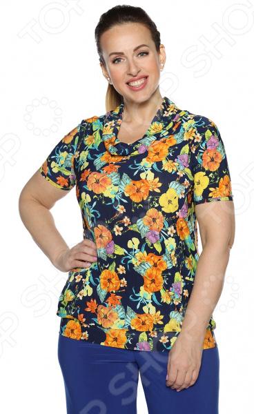 Блуза Матекс «Солнечное счастье». Цвет: оранжевый блуза матекс радость солнцу цвет красный
