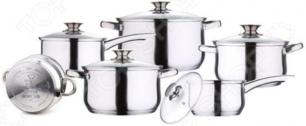 Набор посуды Wellberg WB-02006