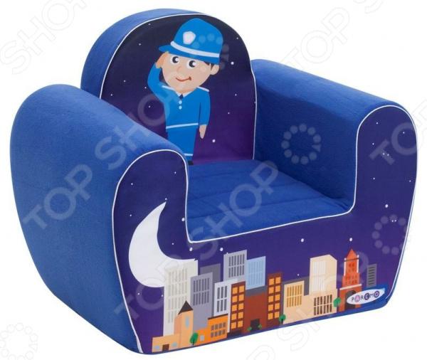 Кресло детское игровое PAREMO «Полицейский»