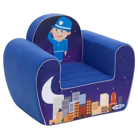Купить Кресло детское игровое PAREMO «Полицейский»