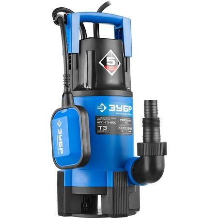 Купить Насос погружной дренажный для грязной воды Зубр «Профессионал» НПГ-Т3-900