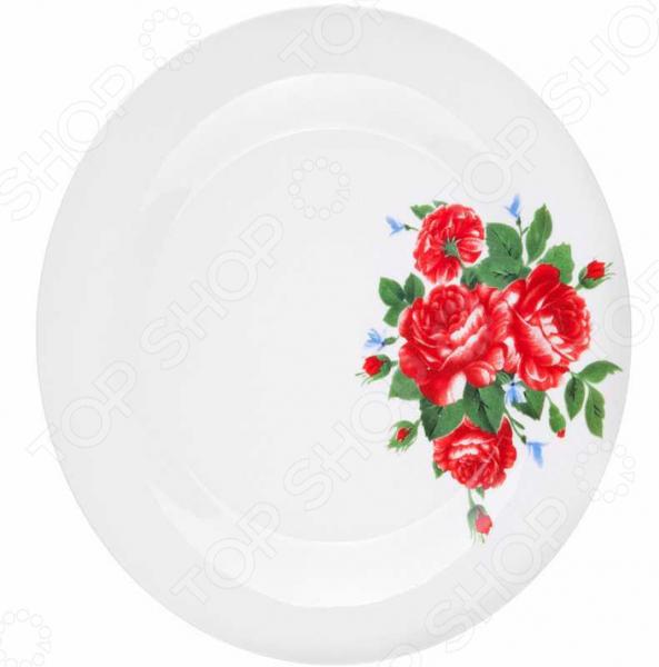 Тарелка десертная Miolla «Цветы» тарелка десертная miolla изящество
