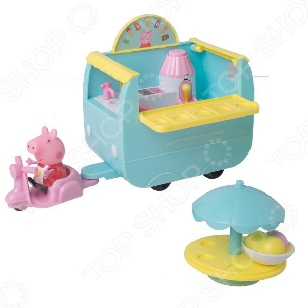 Игровой набор с фигуркой Peppa Pig «Палатка с мороженым»