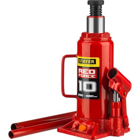 Купить Домкрат гидравлический бутылочный Stayer RED FORCE
