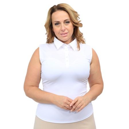 Купить Блуза Laura Amatti «Идеальный силуэт». Цвет: белый