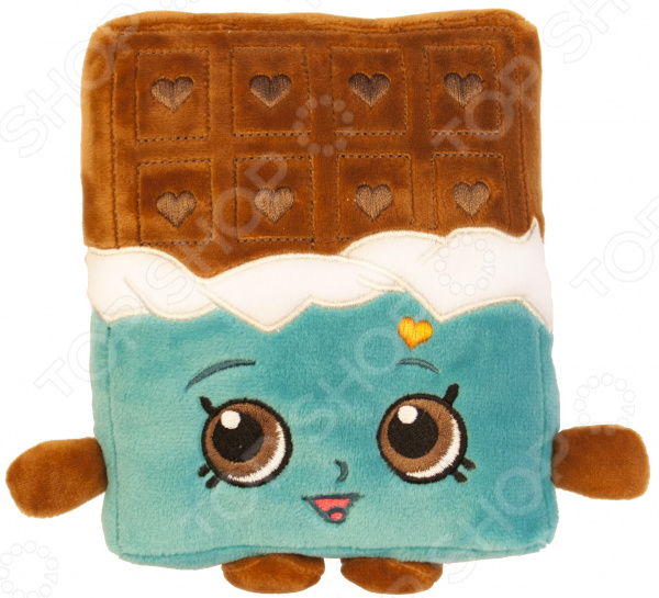 Zakazat.ru: Мягкая игрушка Shopkins «Шоколадка Чеки»