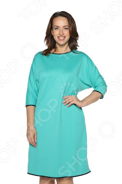 Платье Pretty Woman «Заботливая и нежная». Цвет: бирюзовый