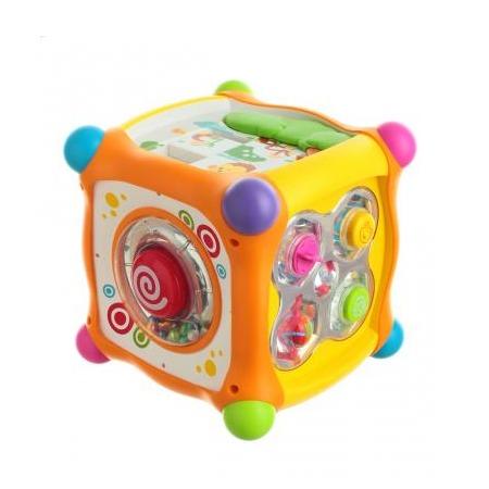 Купить Развивающий центр со светозвуковыми эффектами Huile Toys «Куб»