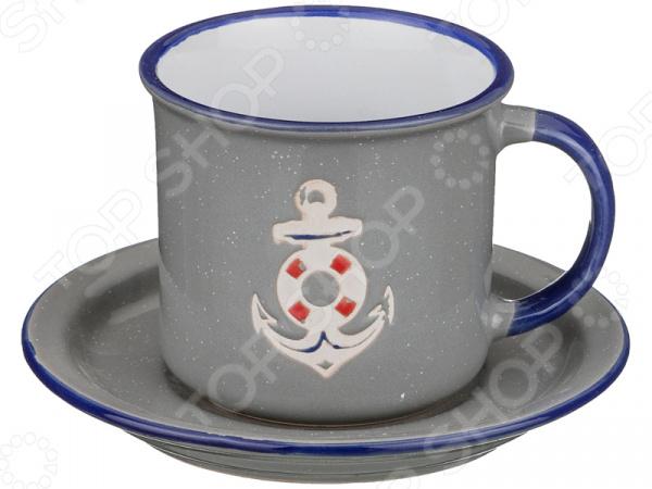 Чайная пара Lefard «Якорь» 153-783