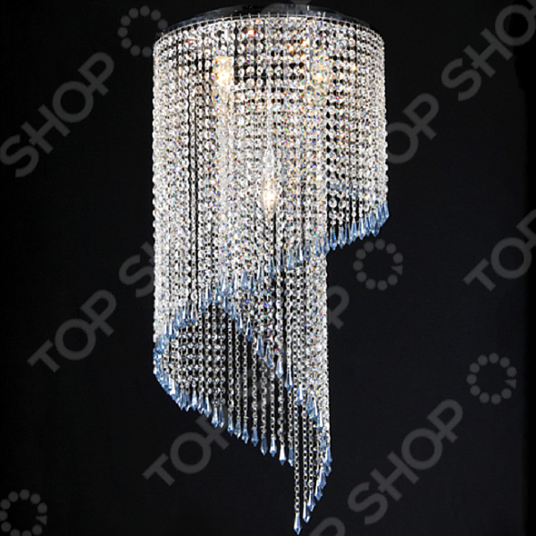 Люстра потолочная Natali Kovaltseva Nizza 11008/5C CHROME, CLEAR  светильник natali kovaltseva 10753 2 chrome