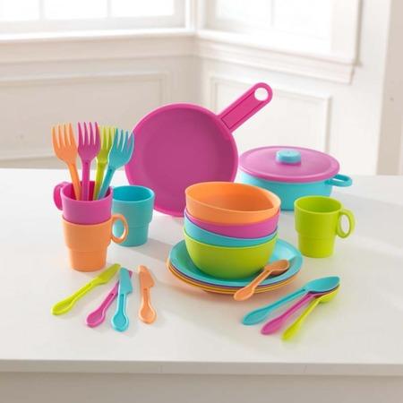 Купить Набор посуды игрушечный KidKraft «Делюкс»