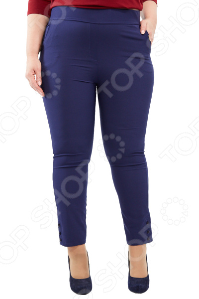 Брюки Blagof «Габриэлла». Цвет: темно-синий брюки blagof брюки зауженные