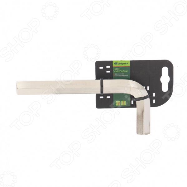 Ключ шестигранный СИБРТЕХ закаленный шестигранный ключ topeak duohex tool 6mm 14г tps sp02