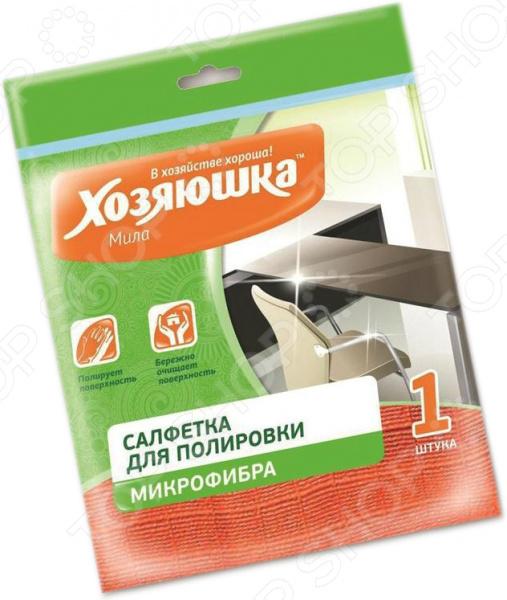 Салфетка для полировки мебели Хозяюшка «Мила» 04004 хозяюшка мила прищепки для деликатной одежды с резиновыми вставками 12 шт 1109031