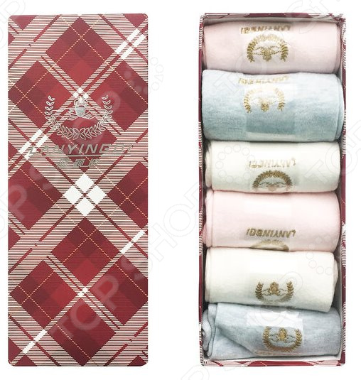Комплект носков женских Lanyingdi БП-00000114 цены онлайн