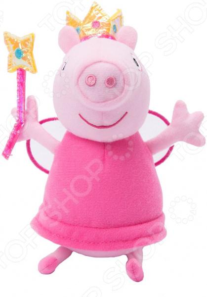 Мягкая игрушка Peppa Pig «Пеппа-фея с палочкой»