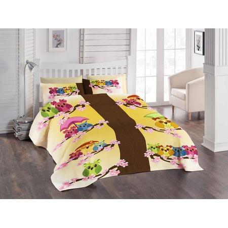 Купить Детский комплект постельного белья ТамиТекс «Совята»
