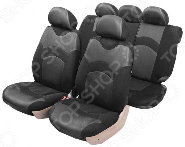 Набор чехлов-маек для сидений Azard Revolution Набор чехлов-маек для сидений Azard Revolution /Серебристый