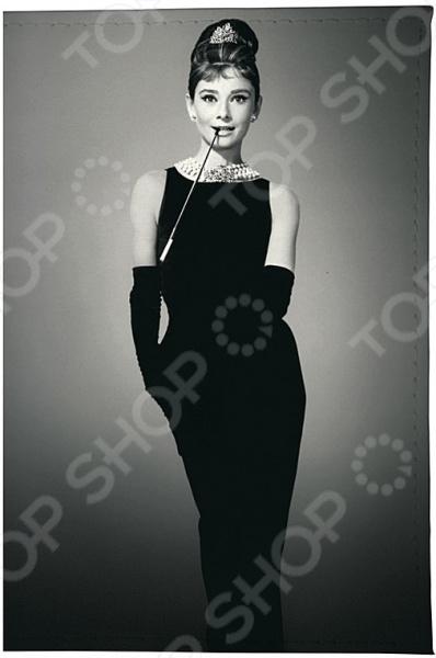 Визитница Mitya Veselkov «Одри в черном платье» визитницы mitya veselkov визитница олени на черном