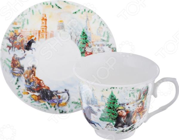 Чайная пара Gift'n'home «Русская зима»