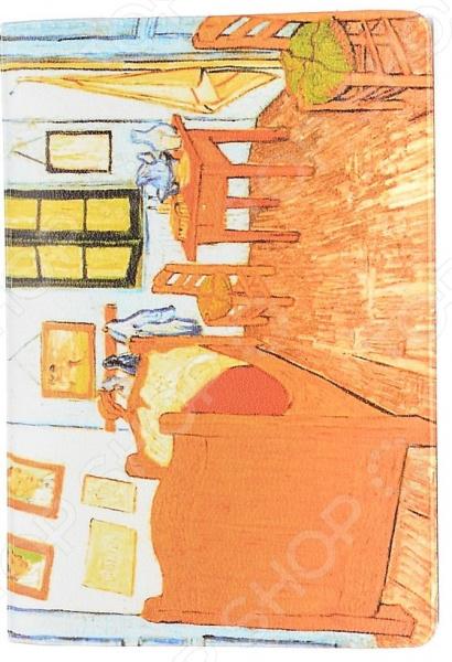 Визитница Mitya Veselkov «Ван Гог: Спальня в Арле» визитница mitya veselkov ван гог терраса кафе ночью