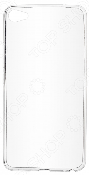 Чехол защитный skinBOX Meizu U20 аксессуар чехол накладка для meizu m5 skinbox silicone chrome border 4people gold t s mm5 008