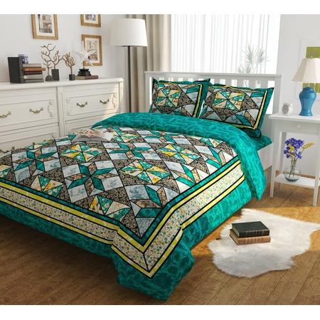 Купить Комплект постельного белья Сирень «Изумрудные сны». Евро