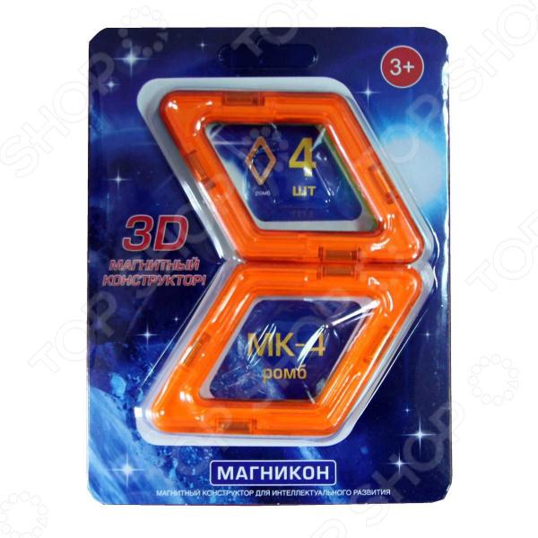 Конструктор магнитный Магникон «Ромб»