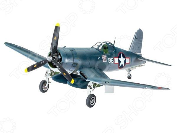 Набор сборной модели истребителя-бомбардировщика Revell Vought F4U-1D CORSAIR александр медведь юнкерс ju 88 от пикирующего бомбардировщика и ночного истребителя до самолета самоубийцы