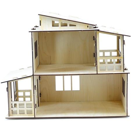 Купить Домик-конструктор для куклы PAREMO «Загородная вилла»