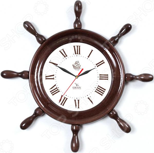 Часы настенные Вега Д 7 МД 6 «Штурвал. Римская классика»