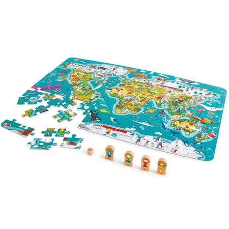 Купить Головоломка Hape «Карта мира»