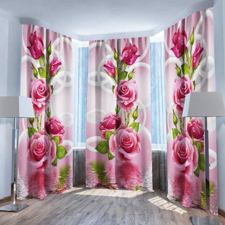 Купить Фотошторы ТамиТекс «Душистые розы»