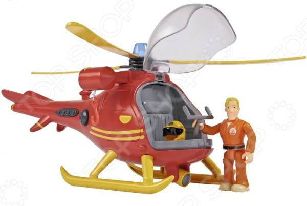 Игровой набор с фигуркой Simba «Пожарный Сэм. Вертолет»