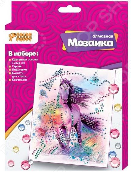 Набор для создания мозаики Color Puppy «Лошадь»